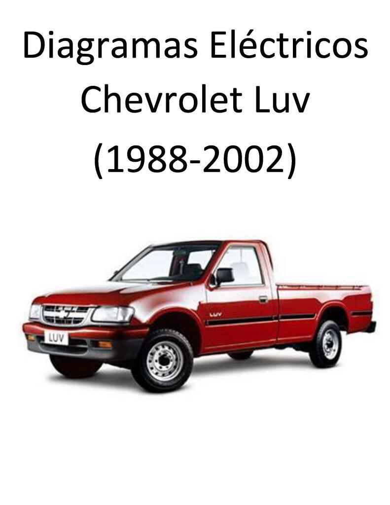 1988 Chevrolet Luv Iii Diagramas Electricos Pdf  7 23 Mb